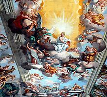 Knight's Hall Ceiling, Brezice by Graeme  Hyde
