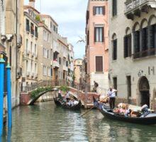 Venice in Summer Sticker