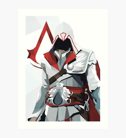 Brotherhood - Assassin's Creed Art Print