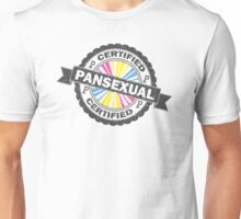 Certified Pansexual Stamp Unisex T-Shirt