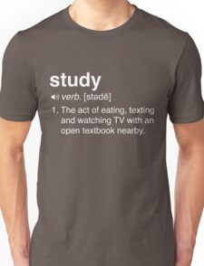 Funny Study Definition Unisex T-Shirt