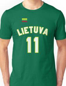 Arvydas Sabonis 11 Lithuania Basketball  Unisex T-Shirt