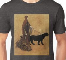 """The Queen of the Ebony Isles"" by Edmund Dulac Unisex T-Shirt"