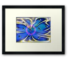 Attracting Forces Framed Print