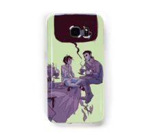 tea party in the void Samsung Galaxy Case/Skin