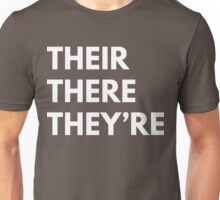 Their There They're Unisex T-Shirt