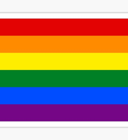 LGBT Flag Sticker
