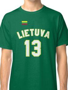 Sarunas Marciulionis 13 Lithuania Basketball Classic T-Shirt