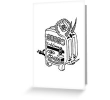 Triceratoaster Greeting Card