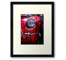 Classic Muscle Car Framed Print