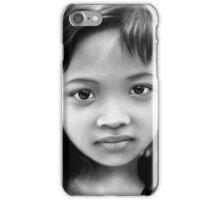 Jakarta Girl Digital Portrait iPhone Case/Skin