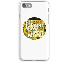 sunflower jimmy fallon iPhone Case/Skin