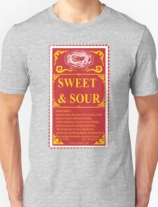 SWEET AND SOUR  Unisex T-Shirt