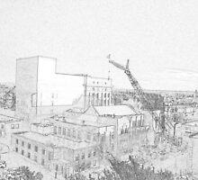 Rebuilding The Spire by loftwerks