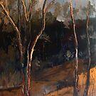 Sugarloaf Creek Broadford Vic Aust (oil) by Margaret Morgan (Watkins)