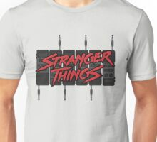 Stranger Things: Blood Logo ft. *SIX* 80s Walkie-Talkies (version two) Unisex T-Shirt