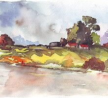 On the banks of the Crocodile River by Maree  Clarkson