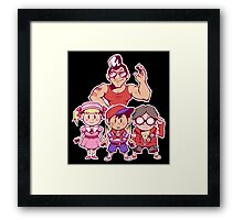 EarthBound Beginnings Party Framed Print