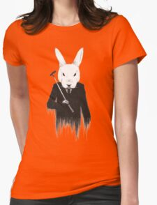 The White Rabbit Womens Fitted T-Shirt