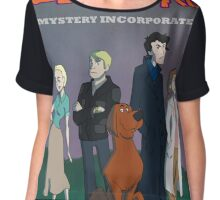 Red Beard Mystery Inc Chiffon Top