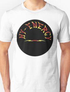 Hy Energy logo in Black Circle Unisex T-Shirt