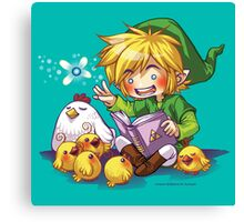 Cucco Bedtime Stories - Legend of Zelda Canvas Print