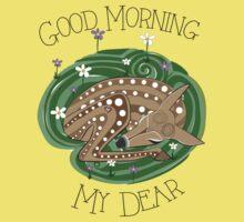 Good Morning Deer Kids Tee