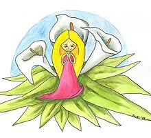 Calla Lily Girl by Sorsha Morris
