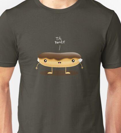 Crude Food: Chocolate Éclair  Unisex T-Shirt