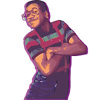 Purple Urkel - Weed Photographic Print