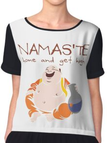 Namaste - Home and Get High Chiffon Top