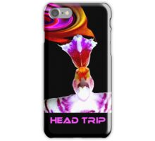 Head Trip - Orchid Alien Discovery iPhone Case/Skin