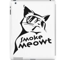 Smoke Meowt iPad Case/Skin