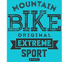 Mountain Bike Original Extreme Photographic Print