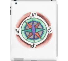 Compass Rose watercolor  iPad Case/Skin