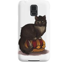 Crowley Cat on his Crown Samsung Galaxy Case/Skin