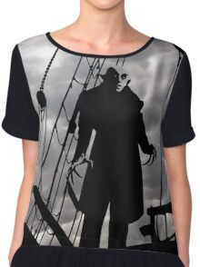 Nosferatu - Still the scariest vampire Chiffon Top