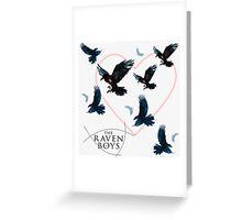 Raven Boys Greeting Card