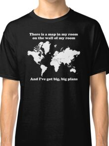 The Front Bottoms Maps v2 Classic T-Shirt