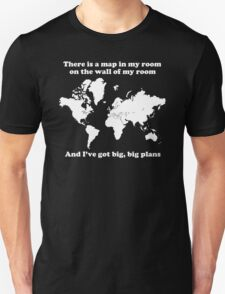 The Front Bottoms Maps v2 Unisex T-Shirt