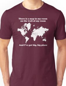The Front Bottoms Maps v2 Unisex T-Shirt