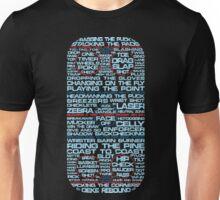 Hockey Rink Typography Unisex T-Shirt