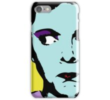 Pop Art - Any Warhol Inspired - Vintage Woman iPhone Case/Skin