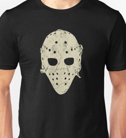 Vintage Hockey Goalie Mask Unisex T-Shirt