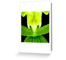 EEK! - Orchid Alien Discovery Greeting Card