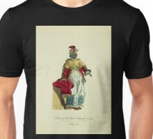 Habit of the black sultaness in 1749 Sultane noire 383 Unisex T-Shirt