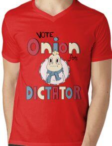 ONION FOR DICTATOR Mens V-Neck T-Shirt