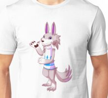 You mess with the wolf, you get the fangs Unisex T-Shirt