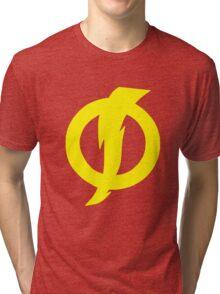 Static Shock Symbol Tri-blend T-Shirt
