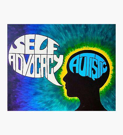 Autistic Self-Advocacy Photographic Print